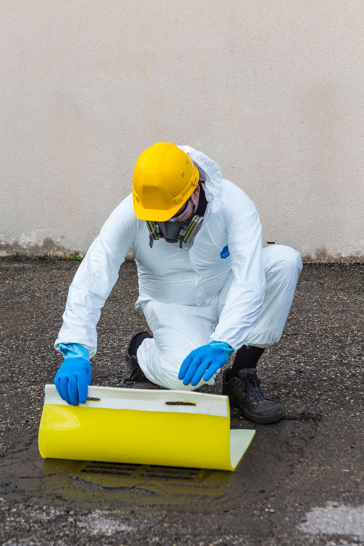 Spill Kill Sticky Polyurethane Drain Cover 900 X 900mm Fl